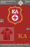 LTU Kappa Alpha - Rush Polo (Red)