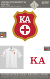LTU Kappa Alpha - Rush Polo (White)