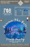 UGA Gamma Phi Beta - Field Party Night (Ice Blue)