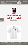 R0 UGA School of Law - Law Polos (White)