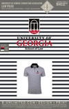 RO UGA School of Law - Law Polos (Striped)