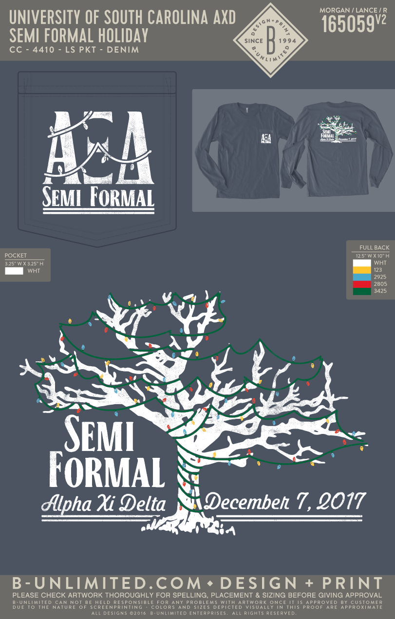 USC Alpha Xi Delta - Semi Formal Holiday