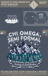 USC Chi O - Winter Wonderland (LS Denim)