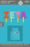 Tennessee ZTA - Popsicle Tank (Lagoon Blue)
