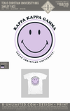 TCU KKG - Smiley Face