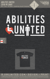 Abilities United - 2018 PR Shirt (Charcoal Black Triblend)
