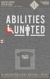 Abilities United - 2018 PR Shirt (Grey Triblend)