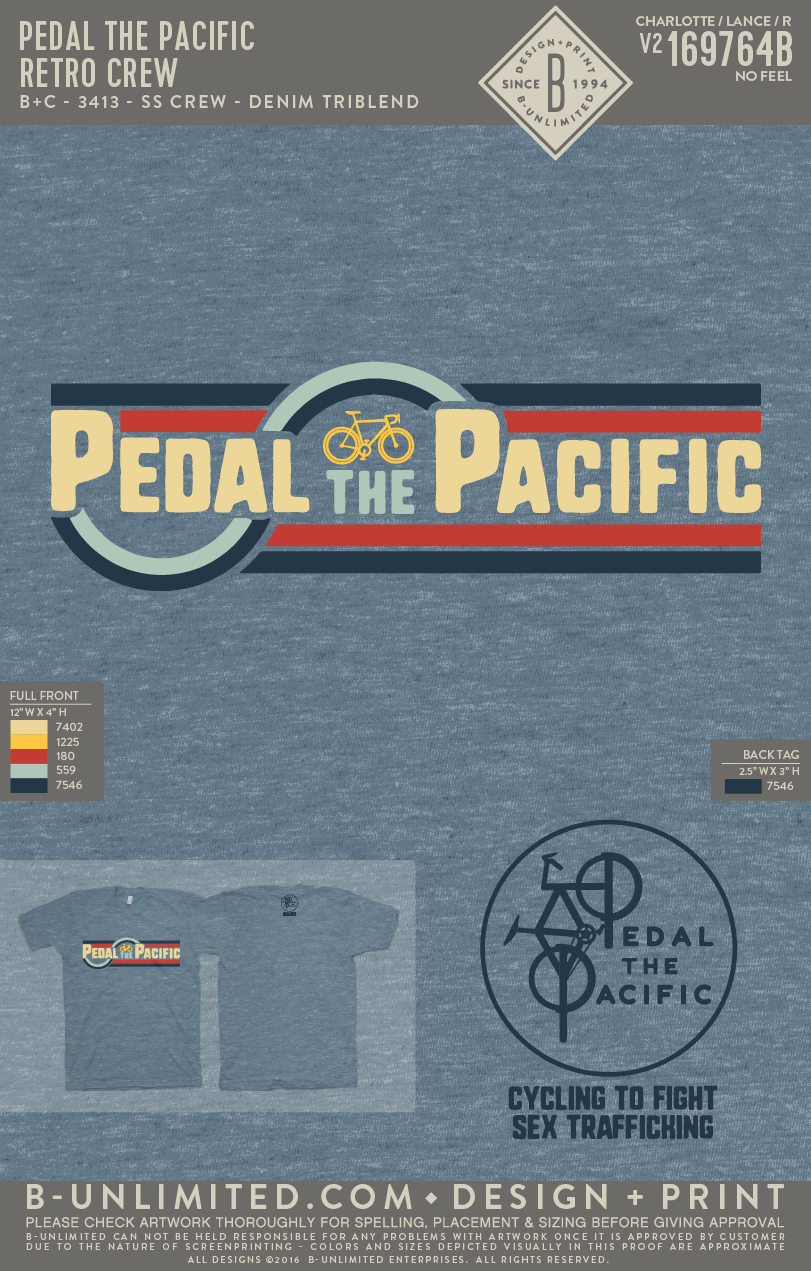 Pedal the Pacific - Retro Crew