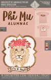 UofA Phi Mu Alumna - House Dedication