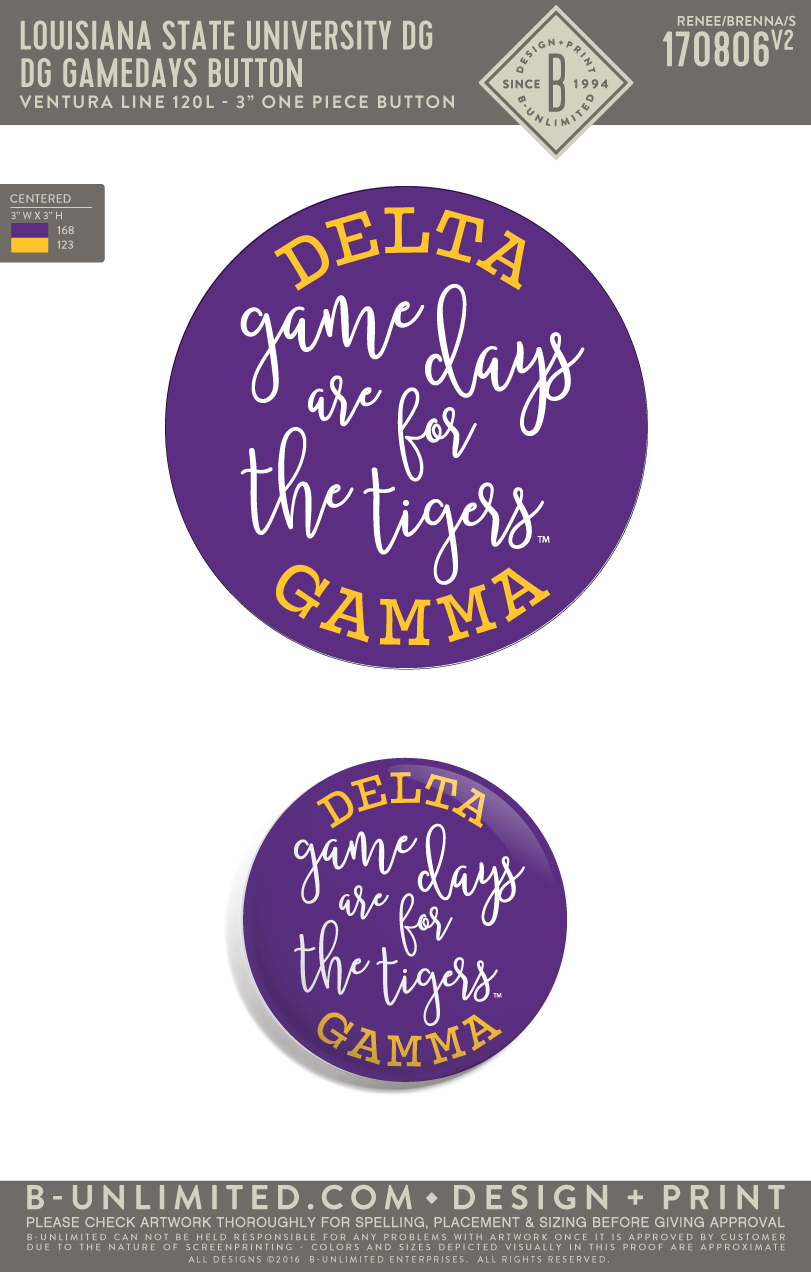 LSU DG - DG Gamedays Button