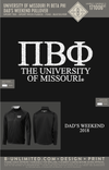 Mizzou Pi Phi - Dad's Weekend Pullover