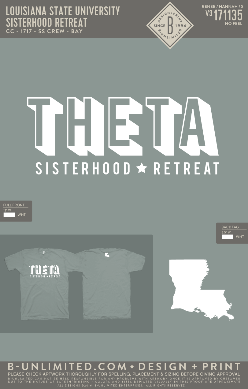 LSU Theta - Sisterhood Retreat (Bay)