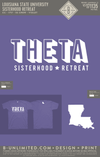 LSU Theta - Sisterhood Retreat (Violet)
