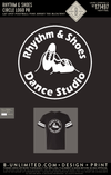 Rhythm & Shoes - Circle Logo PR (Black/White)