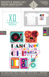 UofA Chi O - Dancing Through Decades (White)