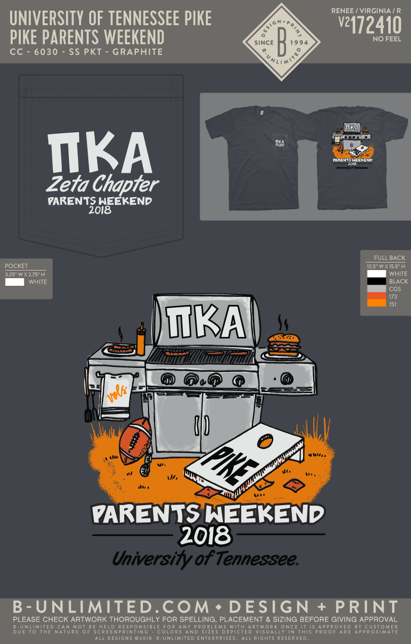 Tennessee PIKE - Pike Parents Weekend