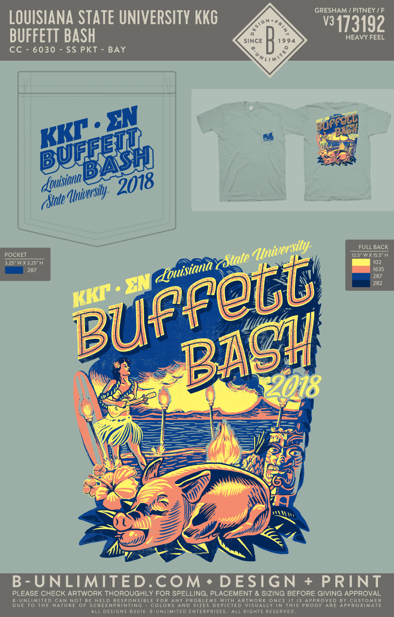 LSU KKG - Buffett Bash