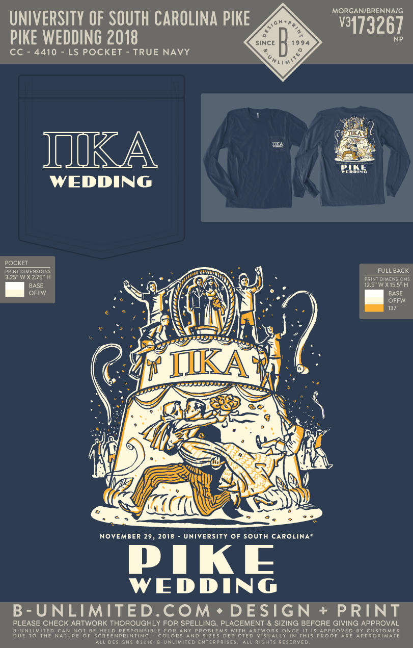 USC Pike - Pike Wedding 2018