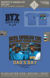UofA BYX - Dad's Day (Mystic Blue)