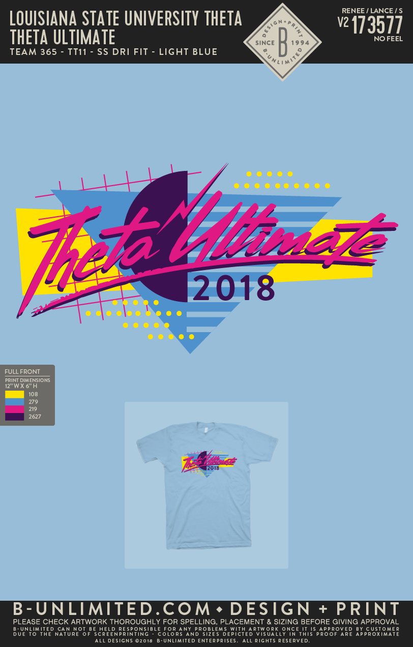 LSU Theta - Theta Ultimate (SS)