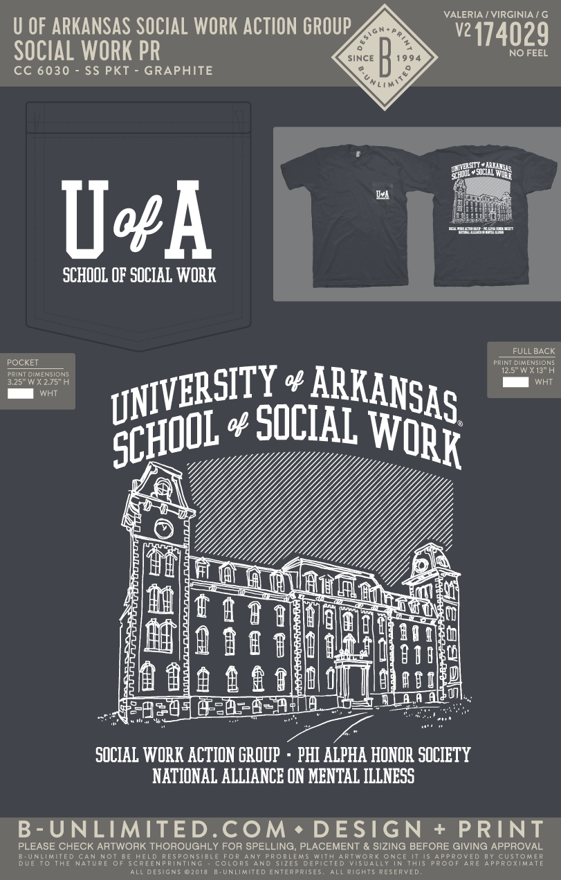 REORDER University of Arkansas Social Work Action Group - Social Work PR