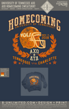 Tennessee AXO - AXO Homecoming Sweatshirt (Navy)