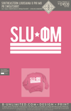 Southeastern Louisiana University Phi Mu - PR Sweatshirt (Crunchberry)
