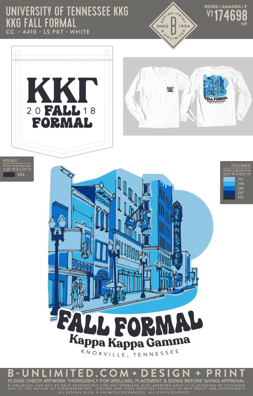 257f673fcc83 Tennessee KKG - KKG Fall Formal - B-Unlimited Custom Apparel Shop