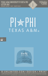 Texas A&M Pi Phi - Letter Hat