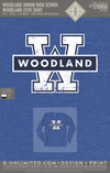 Woodland Junior High School - Woodland 2019 Shirt (Long Sleeve - Heather Royal)