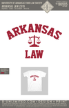 UofA Food Law Society - Arkansas Law 2019 (White Beefy)