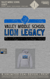 Valley Middle School - Legacy (Youth Hoodie)