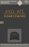 Mizzou Alpha Gamma Sigma - Homecoming Hat (Black with Gold Embroidery)