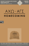Mizzou Alpha Gamma Sigma - Homecoming Hat (Mustard with Black Embroidery)