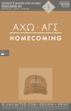 Mizzou Alpha Gamma Sigma - Homecoming Hat (Mustard with White Embroidery)