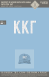 Mizzou KKG Parents - Initiation Hat (Light Blue)