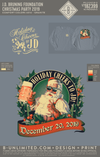 JDB Foundation - Christmas Party 2019 (Long Sleeve Granite)