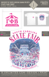 USC Gamma Phi Beta - State Fair Shirt (White)