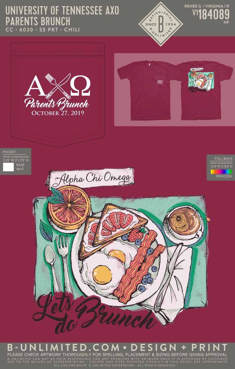 Tennessee AXO - Parent's Brunch