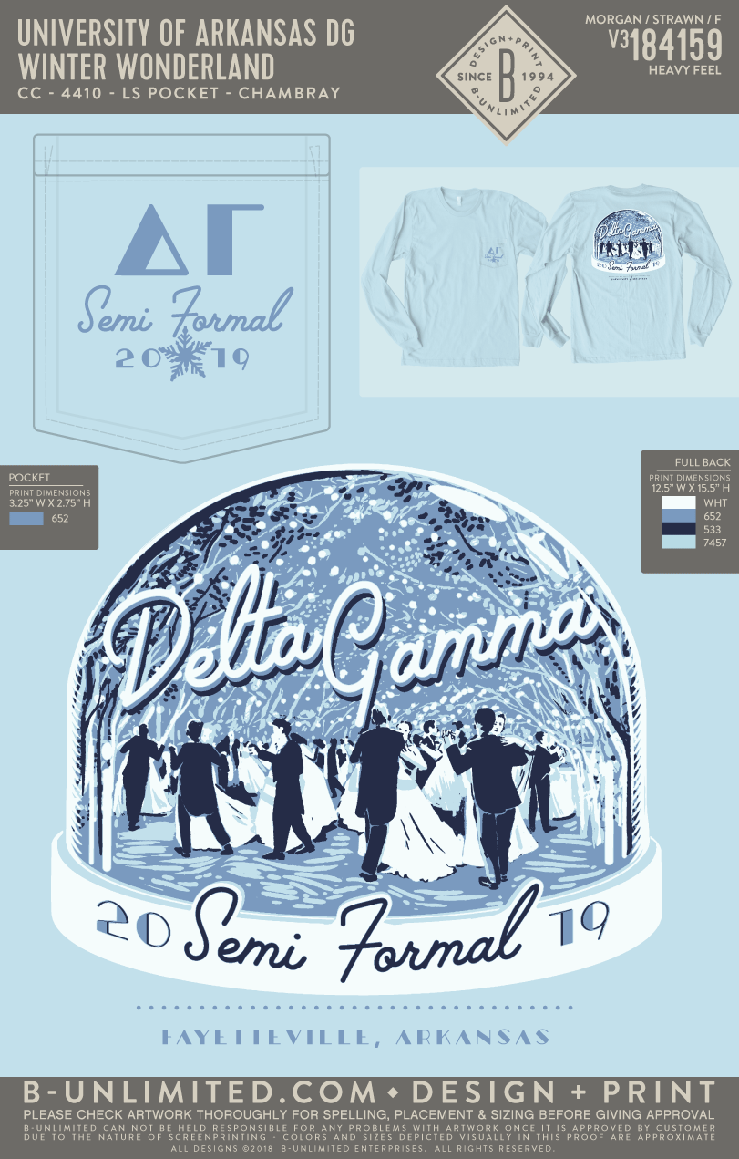 UofA DG - Winter Wonderland (Chambray)