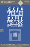 Tennessee KKG - More Than Four Years (True Royal Triblend)