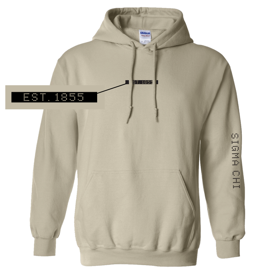 Connect the Dots Fraternity Hoodie Sigma Chi