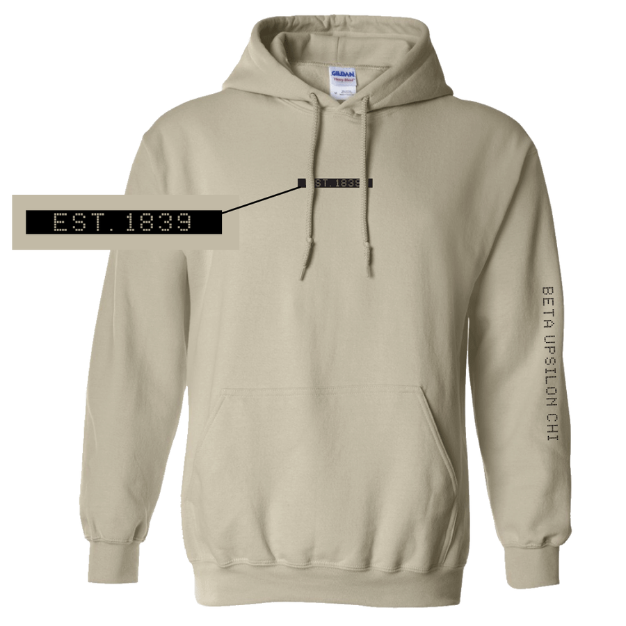 Connect the Dots Fraternity Hoodie Beta Upsilon Chi