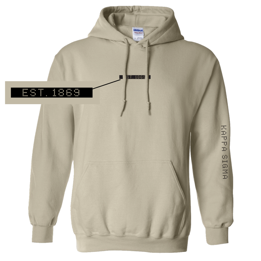 Connect the Dots Fraternity Hoodie Kappa Sigma