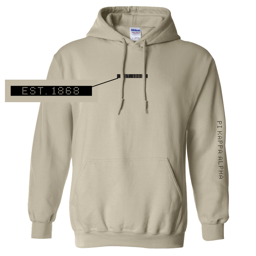 Connect the Dots Fraternity Hoodie Pi Kappa Alpha