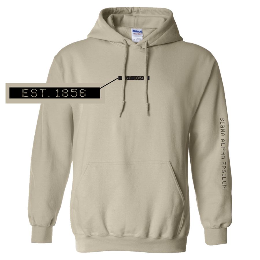 Connect the Dots Fraternity Hoodie Sigma Alpha Epsilon