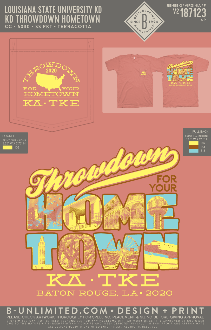 LSU TKE - Hometown Throwdown