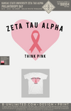 KSU ZTA - Philanthropy Day (White)