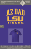 RO LSU DZ - Dad Polo (Purple)