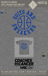 Coaches Vs Cancer - Suits & Sneakers (Coach Jones Blue)